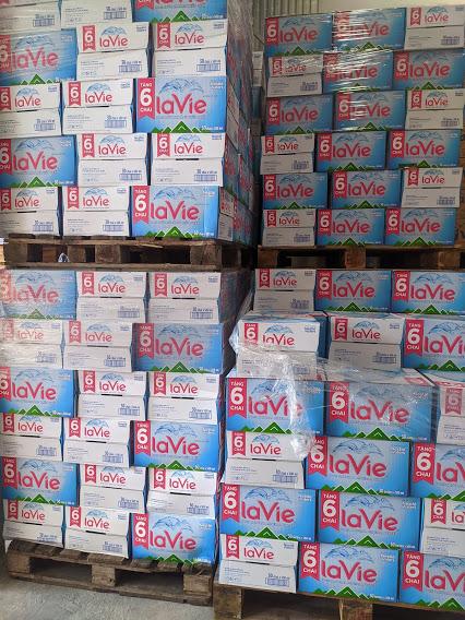 Nước LaVie 500ml thùng 30 chai